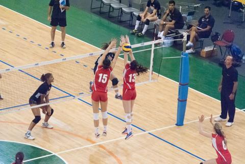 Tecnicas del voleibol